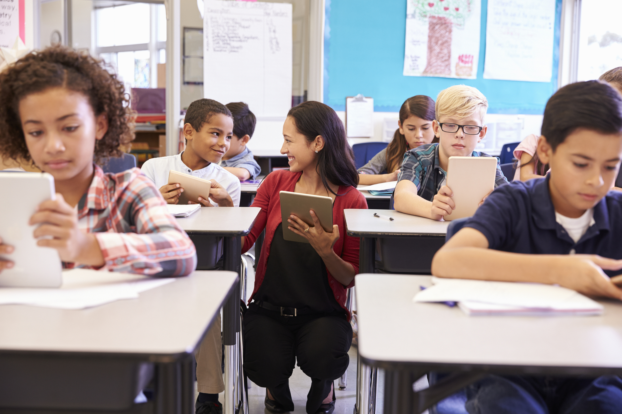 Educational specialists help teachers in a variety of ways