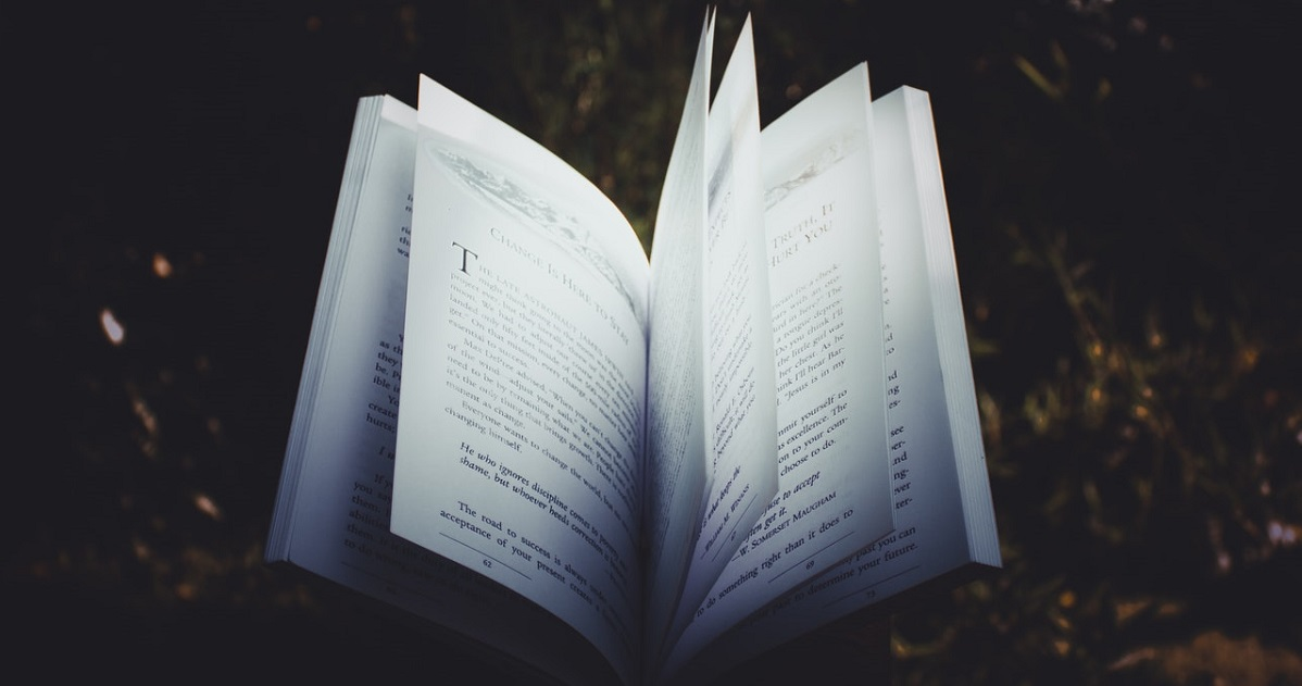 Book with pages