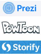 Prezi, PowToon and Storify widen presentation options for teachers and students