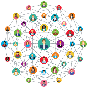Teachers need to work on building their in-person networks