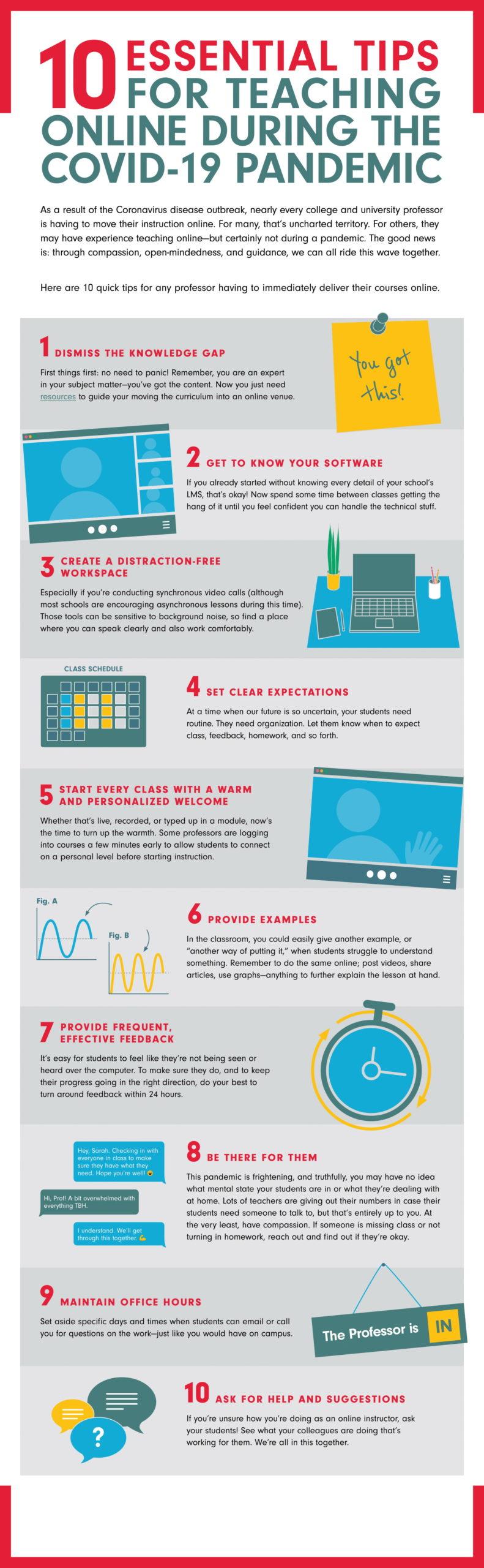 Online Higher Ed Teaching Tips