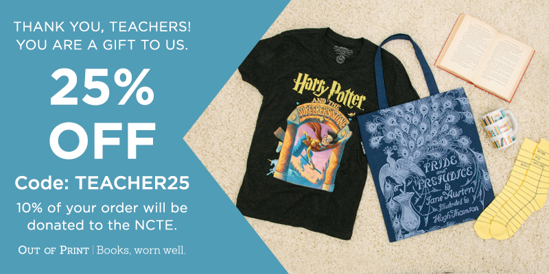 Use code TEACHER25 for 25% off your order