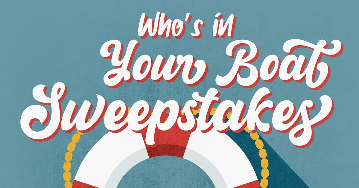 Boat sweepstakes grpahic