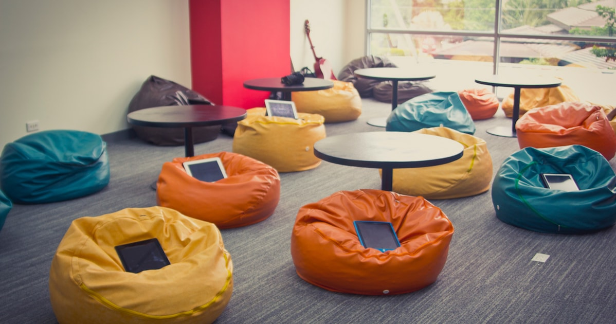 pixabay class bean bag chairs ipads