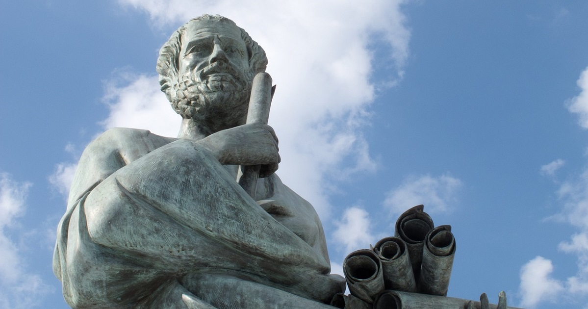 Statue of Socrates in Greece