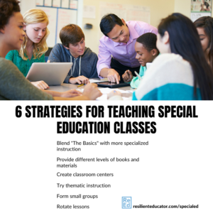 Special education classes provide a unique service to physically or mentally challenged students. The ideal special education classroom provides quality instruction to students with disabilities. While the push in education these days seems to be toward online education and the inclusion of special education students within mainstream classrooms, special education classes are still needed for more severely disabled students. The purpose of the special ed classroom setting is to provide more intensive, individualized attention to the students who most need it.