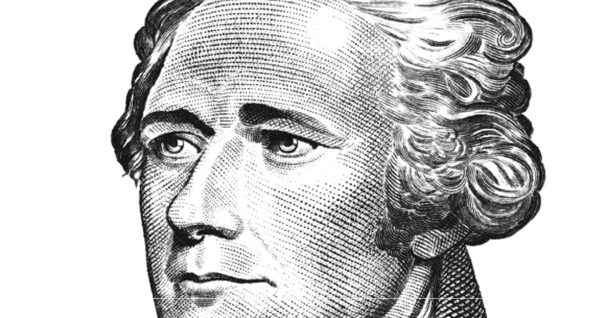 Illustration of Alexander Hamilton