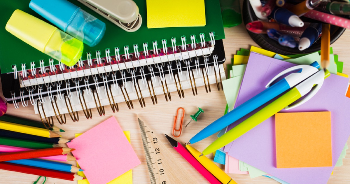 School supplies that teachers acquire for students