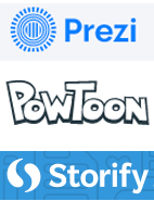 Prezi, PowToon and Storify widen presentation options for teachers and students