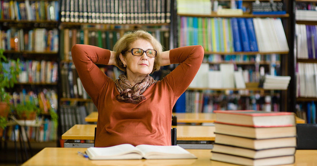 A teacher confident in her leadership abilities