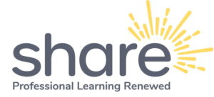 SHARE professional learning platform logo