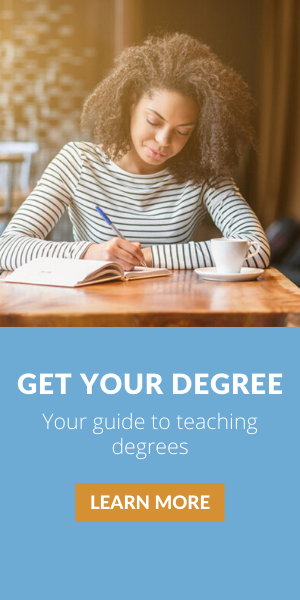Get your degree - your guide to teaching degrees
