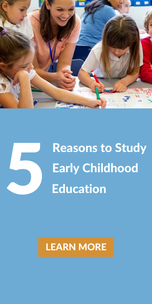 5 Reasons to study early childhood education