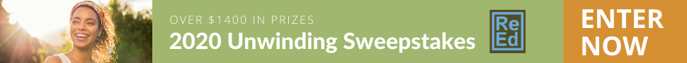 Unwinding Sweepstakes - Over $1400 in prizes