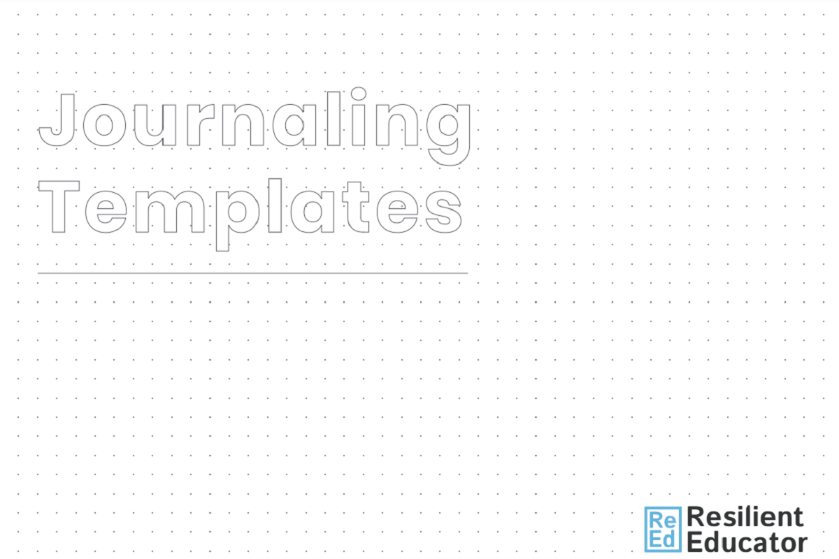 Journaling Template cover