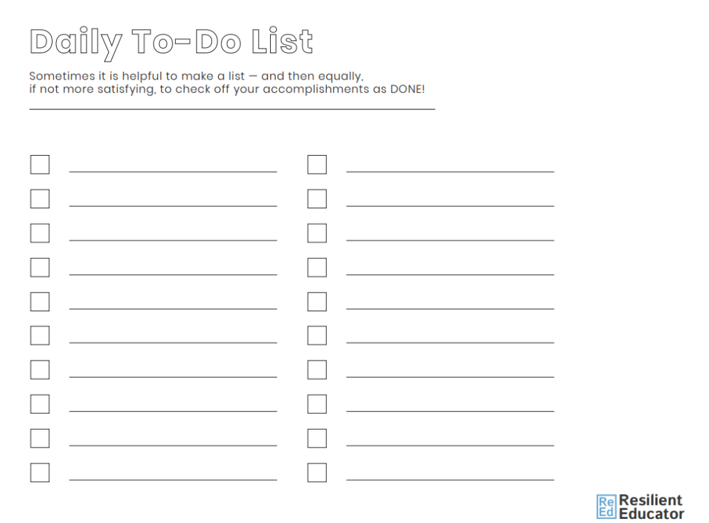 Journey Template - To Do List