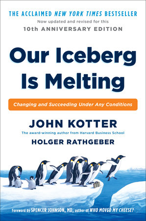 Our Iceberg is Melting book cover
